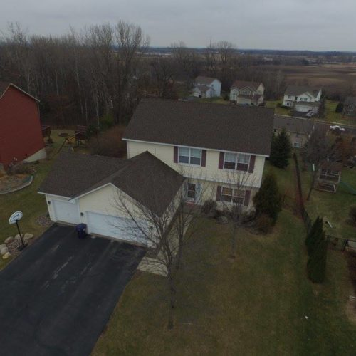 drone roof siding