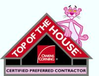 Top of the House Certified Preferred Contractr